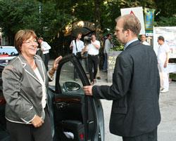 Bundesministerin Ulla Schmidt